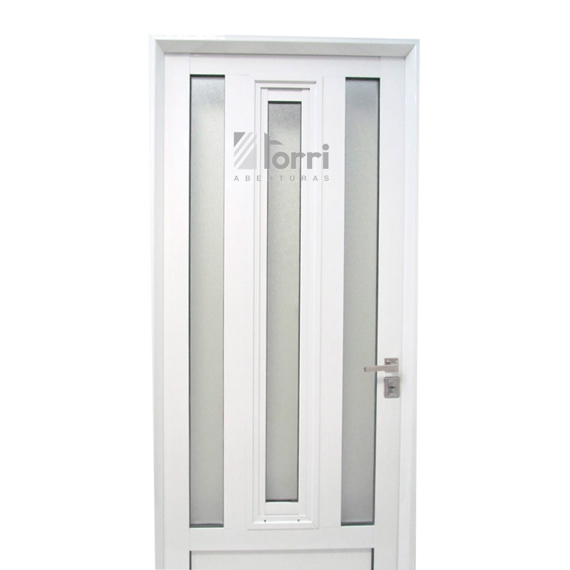 Puerta aluminio blanco reforzada modelo 179 de 080 x 200 - Modelos de puertas de aluminio ...