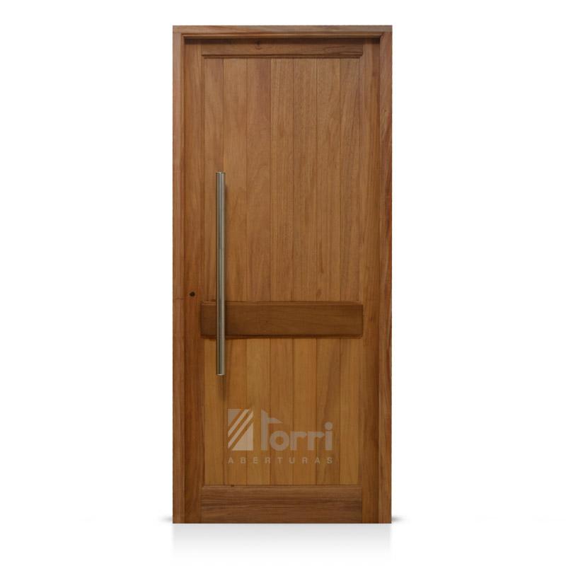 Puerta madera timbo modelo machimbre vertical de 080 200 - Modelos de puerta de madera ...