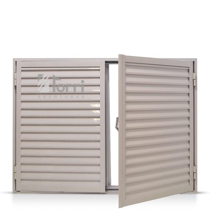 Ventanas aluminio aberturas torri for Celosias de aluminio para jardin