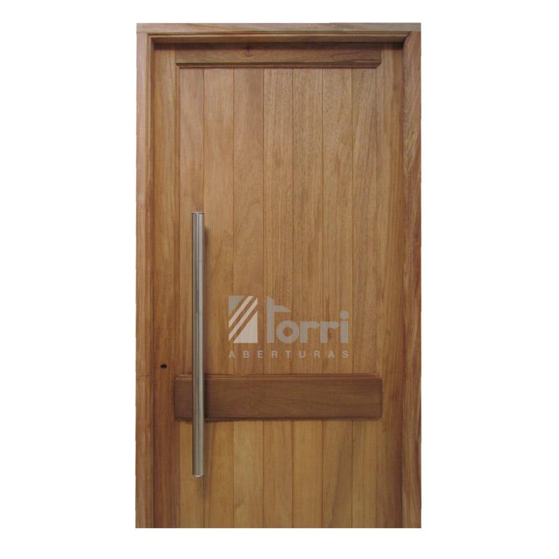 Puerta madera timbo machimbre vertical 080 200 barral for Tejados de madera para puertas